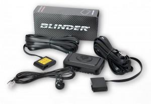 Blinder Laserblocker