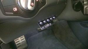Stinger Card Radarwarner Audi RS4