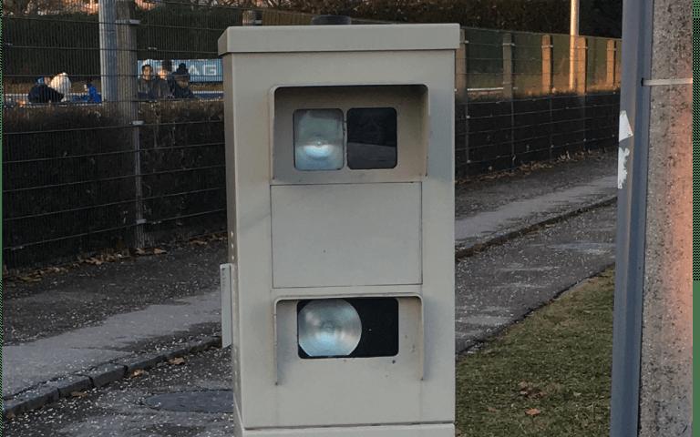 Neues Radar Umfahrung Ebelsberg bei Linz